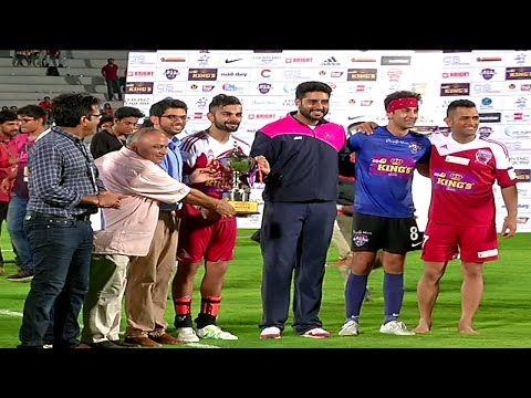Virat Kohli, MS Dhoni, Ranbir Kapoor & Abhishek gather together for charity football match