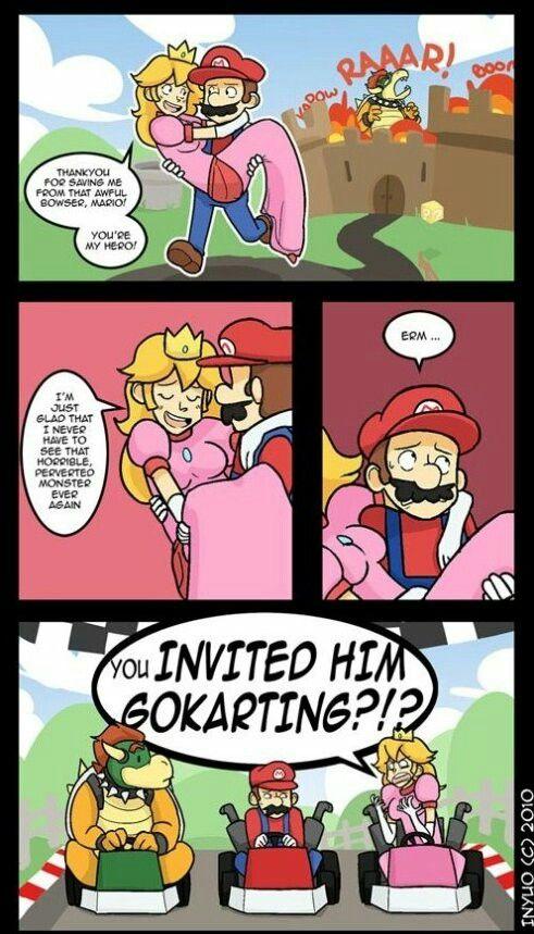 Funny Mario comic