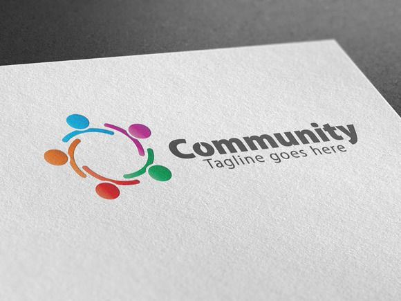 Community Logo by CreativeDezing on @creativemarket