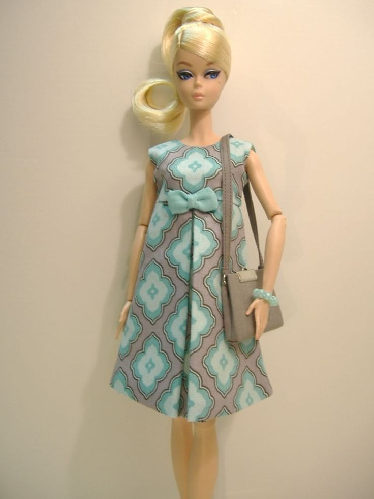 "New Handmade Fashion for Articulated 12"" Silkstone Barbie body"