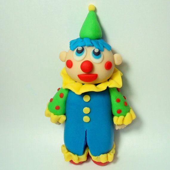 Clown Cake Topper for Birthday