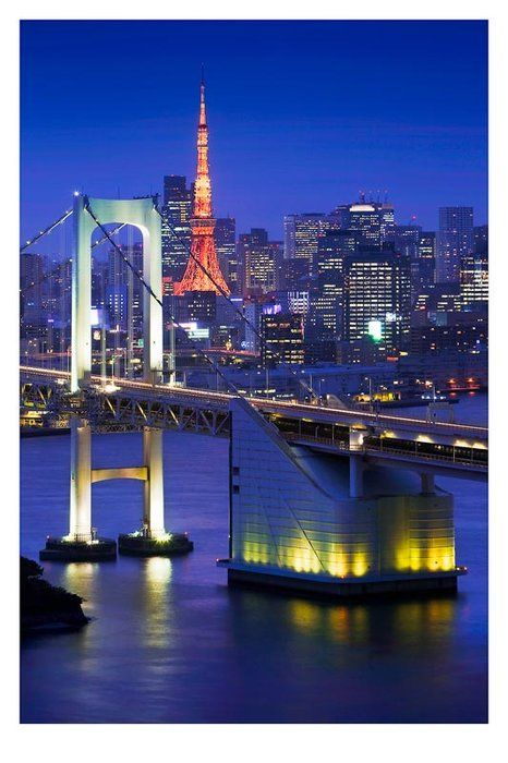 Tokyo, Japan One of the most beautiful places in the world. The