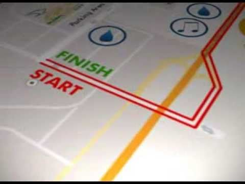 GGLC Aerotropolis Half Marathon Animated Route - YouTube