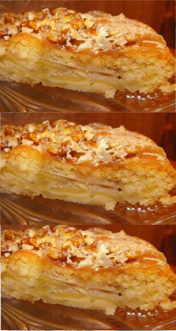 Torta rápida deliciosa no kefir com maçãs no forno – receita passo a passo com foto