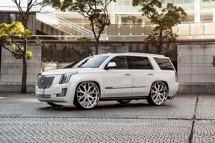"Cadillac Escalade with Lexani Forged wheels LF-771 in 30"". #parkinglotshowoff #pls #awtmotorsports #awthtx #americanwheelandtire #houston #wheels #rims #tires #customwheels #customrims #lexani #lexaniwheels #lexanirims #lexanitires #cadillac #cadillacs #cadillacescalade #escalade #trucks #truckporn #suv #suvs #luxurylifestyle #luxurycars #luxurycar #carporn #carsofinstagram #carstagram #instacar"