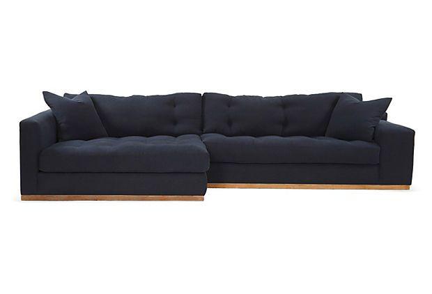 genuine ohana outdoor sectional sofa and chaise lounge set 10 pc set