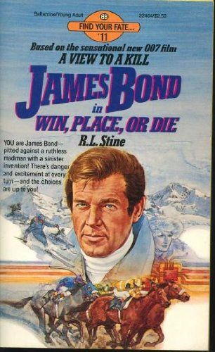 James Bond in Win, Place, or Die by R.L. Stine