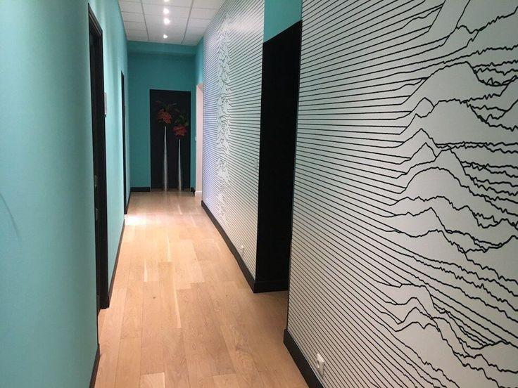 Les 128 meilleures images du tableau papier peint for Papier peint couloir moderne