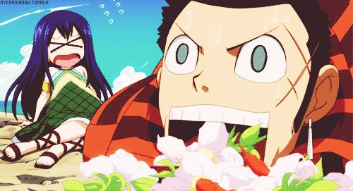 Fairy Tail Mest : I want to know ! I want to know   this flowers' taste x)
