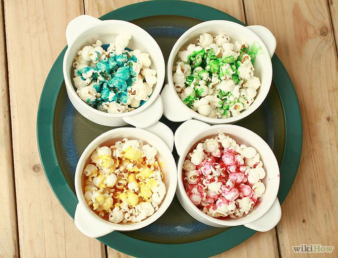 How to Make Rainbow Popcorn: 14 Steps (with Pictures) - wikiHow