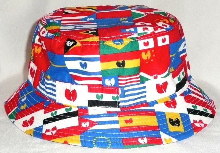 b66d57013fea2 ... uk wu tang nations bucket hat size large l xl multicolored flags wutang  wunitednew 34a78 6bf49 purchase pink dolphin ...