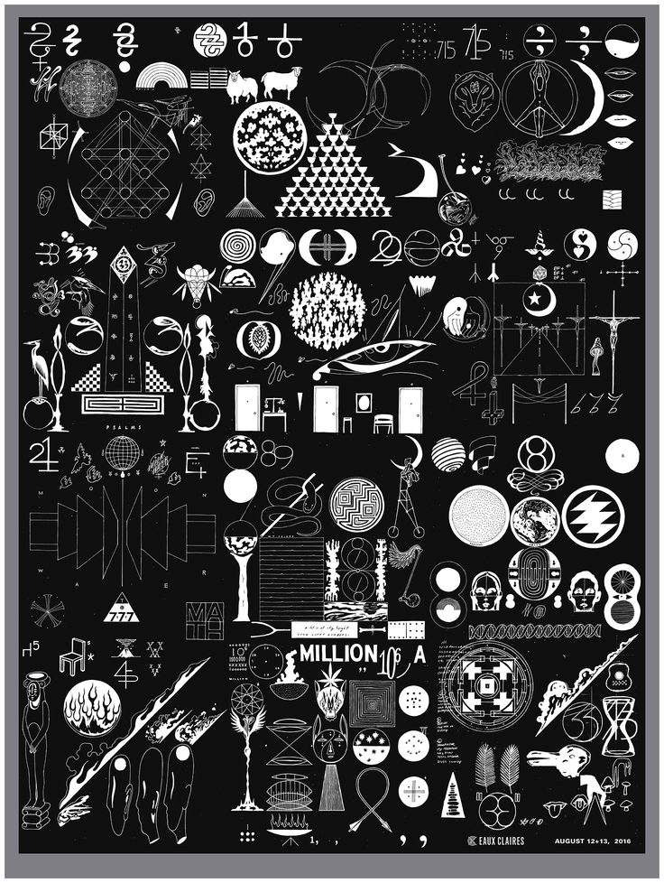 When I first started to see fragments of the artwork for Bon Iver's new album, 22, a Million, I immediately recognized the hand of Eric Timothy Carlson, an artist and designer based in Brook...