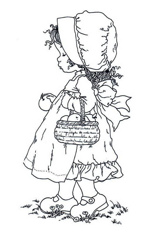 Lindos desenhos para colorir da Sarah Kay