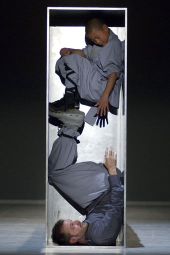 Sadler's Wells Theatre - Sidi Larbi Cherkaoui & Antony Gormley with monks from the Shaolin Temple - Sutra