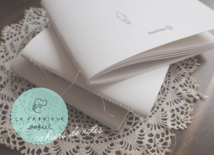 Sewn notebooks  #notebooks #jotters #papergoods #montreal #handmade #prettypaper
