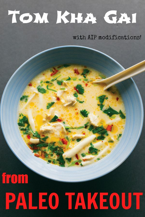 Tom Kha Gai (with AIP Modifications) and a review of Paleo Takeout - Gutsy By Nature