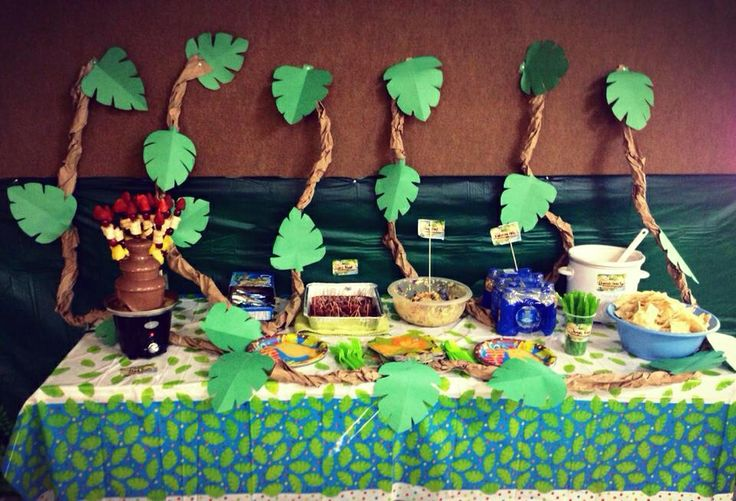 Jungle Party Snacks Amp Display Party Ideas Pinterest