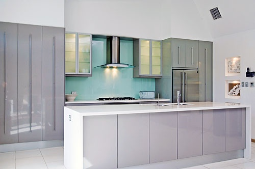 Definitely keen to do an aqua splashback reflect range for Alby turner kitchen designs