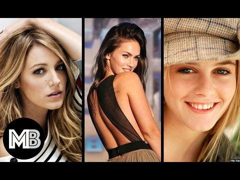 Top 100 Most Beautiful Hollywood Actresses 2017 !