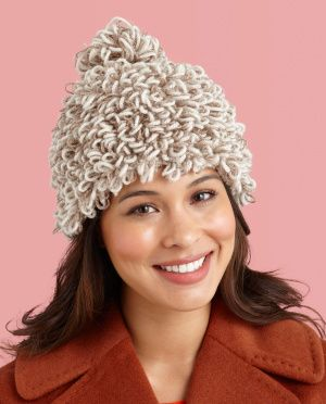 Loopy Hat: this loopy hat makes a sparkling statement and is a great project for kids