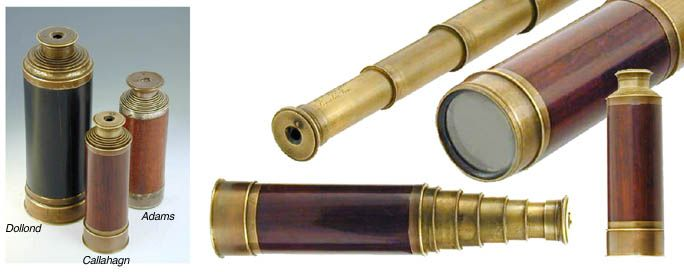 Victorian telescope by Callaghan Every adventuring steampunk needs one