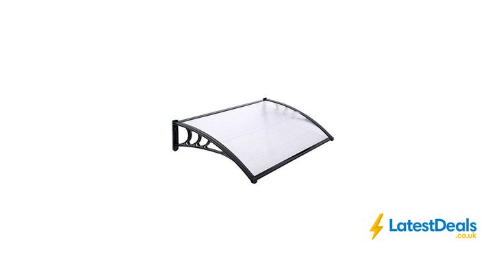 Door Canopy Awning Shelter Front Back Porch out Door Shade 80 X 120CM, £22.97 at Amazon