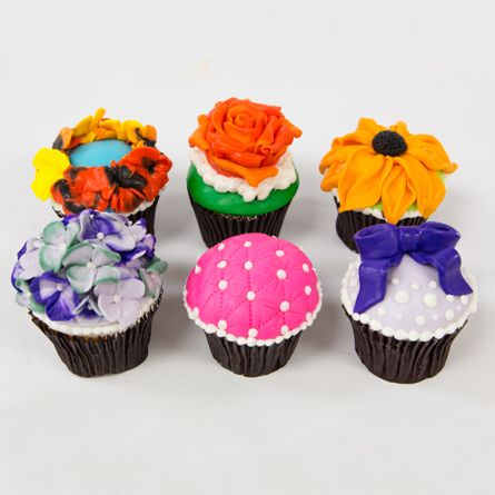 Our fondant cupcake decorating class kicks off in September! Check it out and join us! http://classes.carlosbakery.com/