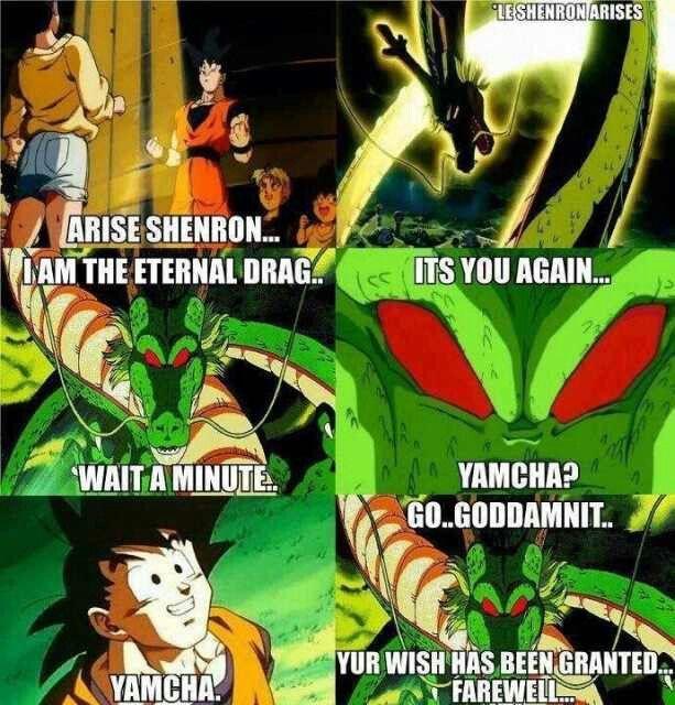 Freaking Yamcha...   Dragon Ball Z, GT, Super, Abridged ...