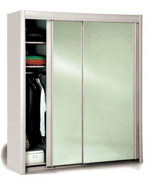 schwebet ren kleiderschrank marco ii m bel wei. Black Bedroom Furniture Sets. Home Design Ideas