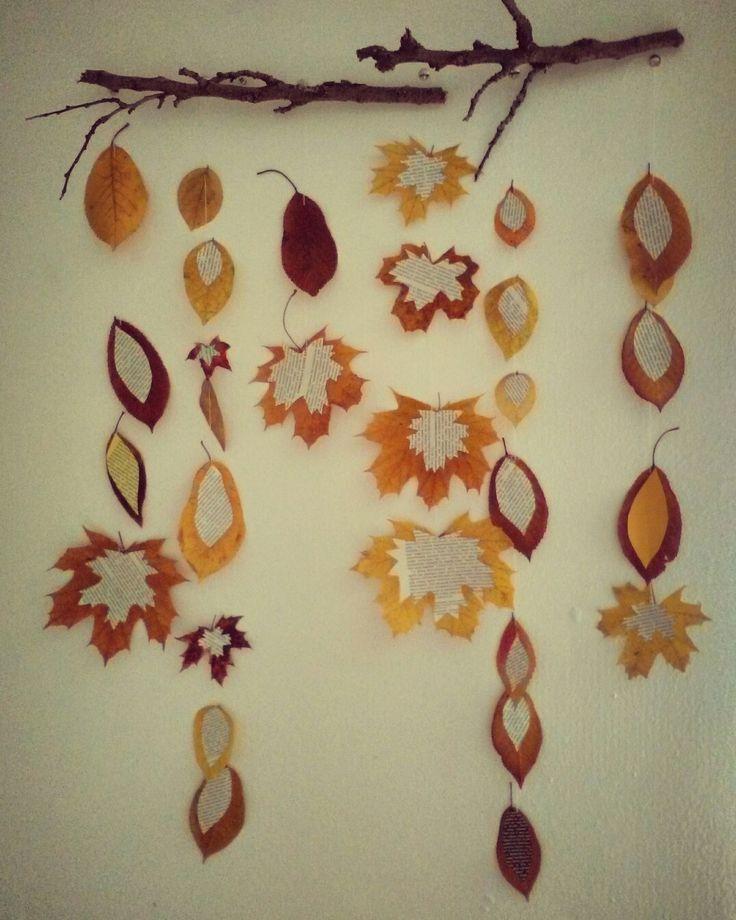 DIY wall decor for autumn