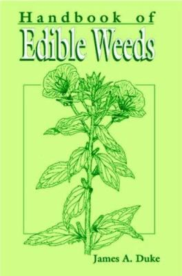 """""""If you can't beat it, eat it."""" Words of wisdom from the author of this portable guide that emphasizes finding practical uses for weeds rather than waging pesticidal war on them. CRC Handbook of Edible Weeds contains detailed descriptions and illustrations of 100 edible weeds, representing 100 genera of higher plant species. Some of the species are strictly American, but many are cosmopolitan weeds. Each account includes common names recognized by the Weed Science Society of America…"""