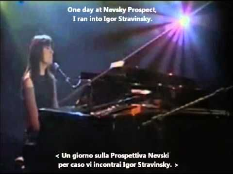 Alice - Prospettiva Nevsky (Nevsky Prospect) with Lyrics and English Tra...