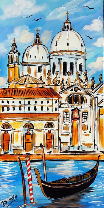 Venice and Gondola