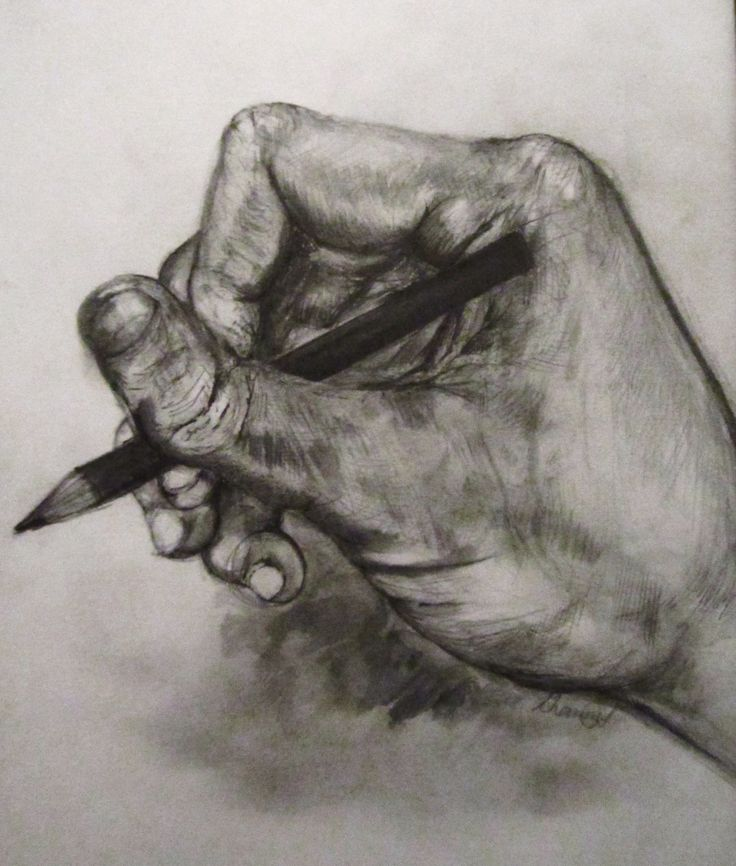 broken thumb sketch by shanni smith