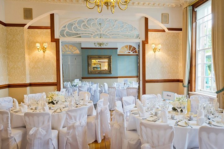 Dining room at Nunsmere Hall hotel