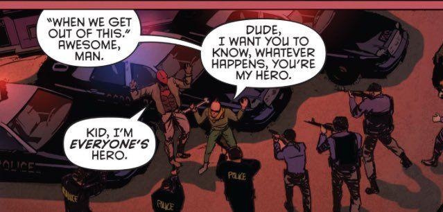 """""""Jason Todd is a villain"""" (Grayson #15 - Robin War)"""