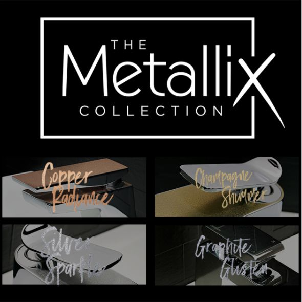"Bristans ""Metallix"" is the newest designer range from Bristan, a beautiful collection of taps, showers and other bathroom features. With ""Metallix"", Bristan have endeavoured to design a range that combines cutting edge design with understated elegance, resulting in bold, modern looks."