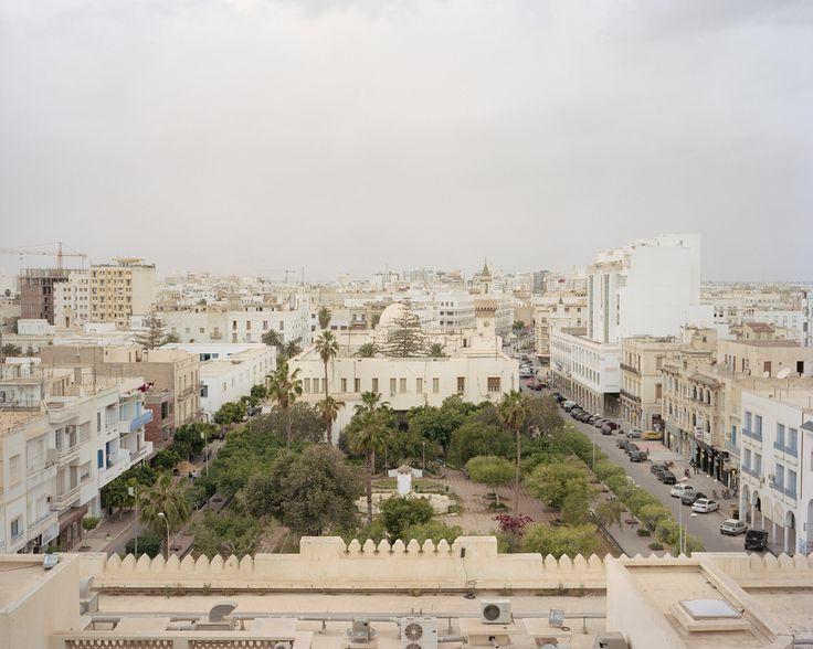 Terrace view  Sfax, Tunisia 2013