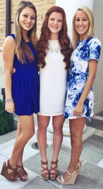 78 Best ideas about Sorority Dresses on Pinterest  Rush outfits ...
