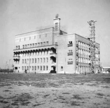 Rotterdam - Schiedamse Vest, Oogziekenhuis vlak na de bouw in 1948