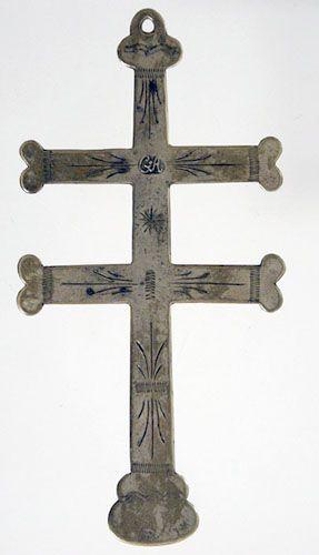 Trade silver cross.