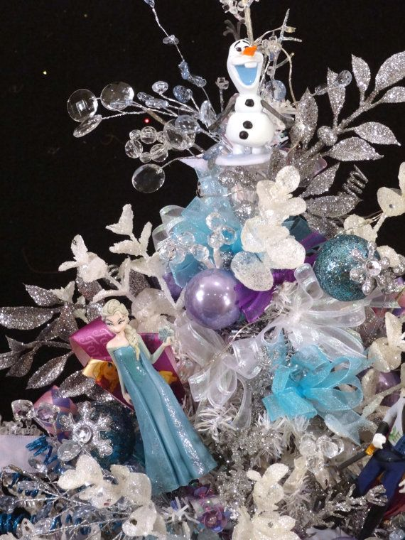 lovely frozen christmas decoration part 13 frozen christmas tree frozen ornaments frozen - Frozen Christmas Tree Ornaments