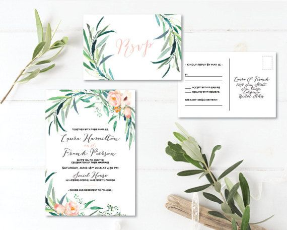 Printable Wedding Invitation Sets: Best 25+ Invitation Set Ideas On Pinterest