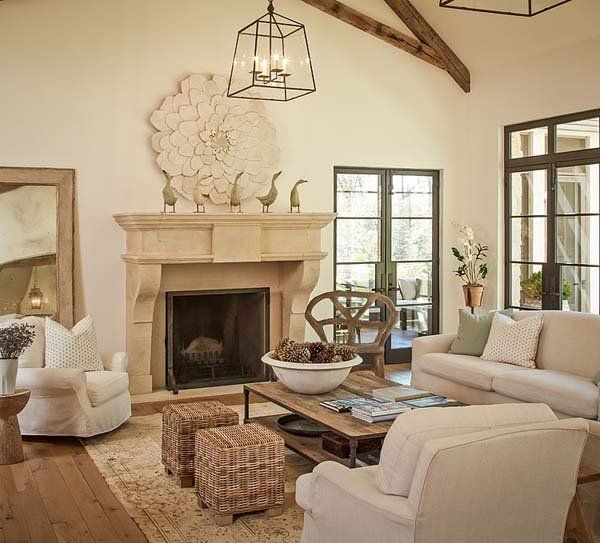Living Room. See More. Traditional Style Home With Light Filled Interiors  In Texas