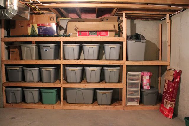 DIY Basement Shelving: Because Not Every House Project Can Be Glamorous