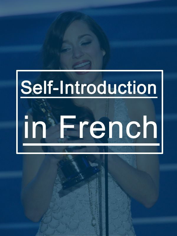 Introduce yourself in French (+Mp3) with these 10 examples