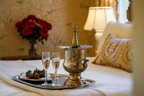 """2016 Valentines Day Recommendation for The Gastonian --- perfect for a romantic Savannah getaway.  --- """"Treat that special someone to an unforgettable Valentine's Day at Savannah's Gastonian Inn."""" #savannah #gastonian #bedandbreakfastsofsavannah #historicsavannahinns #savannahhotels"""