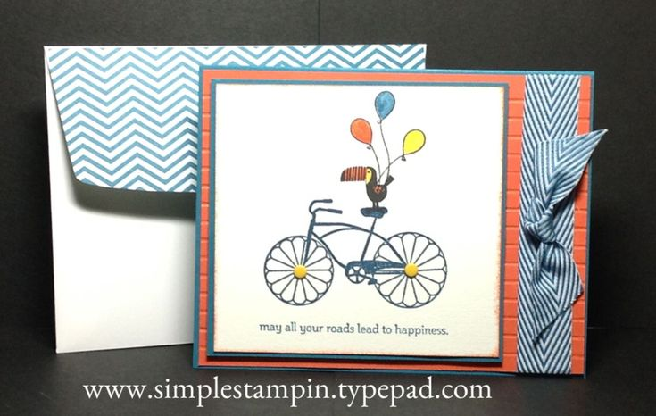 Cycle Celebration is cruisin' with Zoo Babies! Super fun...Stampin' Up!