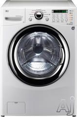 "LG WM3987HW 27"" Front Load Washer/Dryer Combo with 4.2 cu. ft. Ultra Capacity, 9 Washing Cycles, 6 Drying Cycles, Direct Drive Motor, TrueBalance Anti Vibration System, LoDecibel Quiet Operation and Ventless Condensing Drying System"