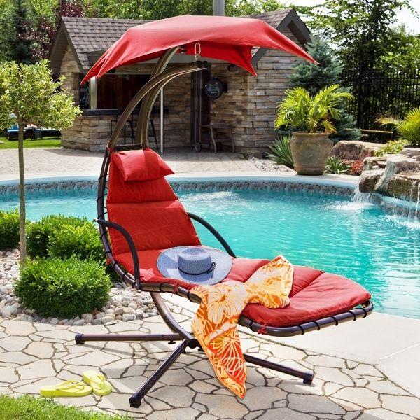 Je veux relaxer sur cette chaise! I want to relax on this chair!  #ListeDeSouhait #WishList #Concours #Contest  Participez vous aussi pour courir la chance de gagner une carte-cadeau de 250$ chez Club Piscine Super Fitness.  Participate for a chance to win a $250 Club Piscine Super Fitness gift card.  http://woobox.com/gg7o9w par www.clubpiscine.ca